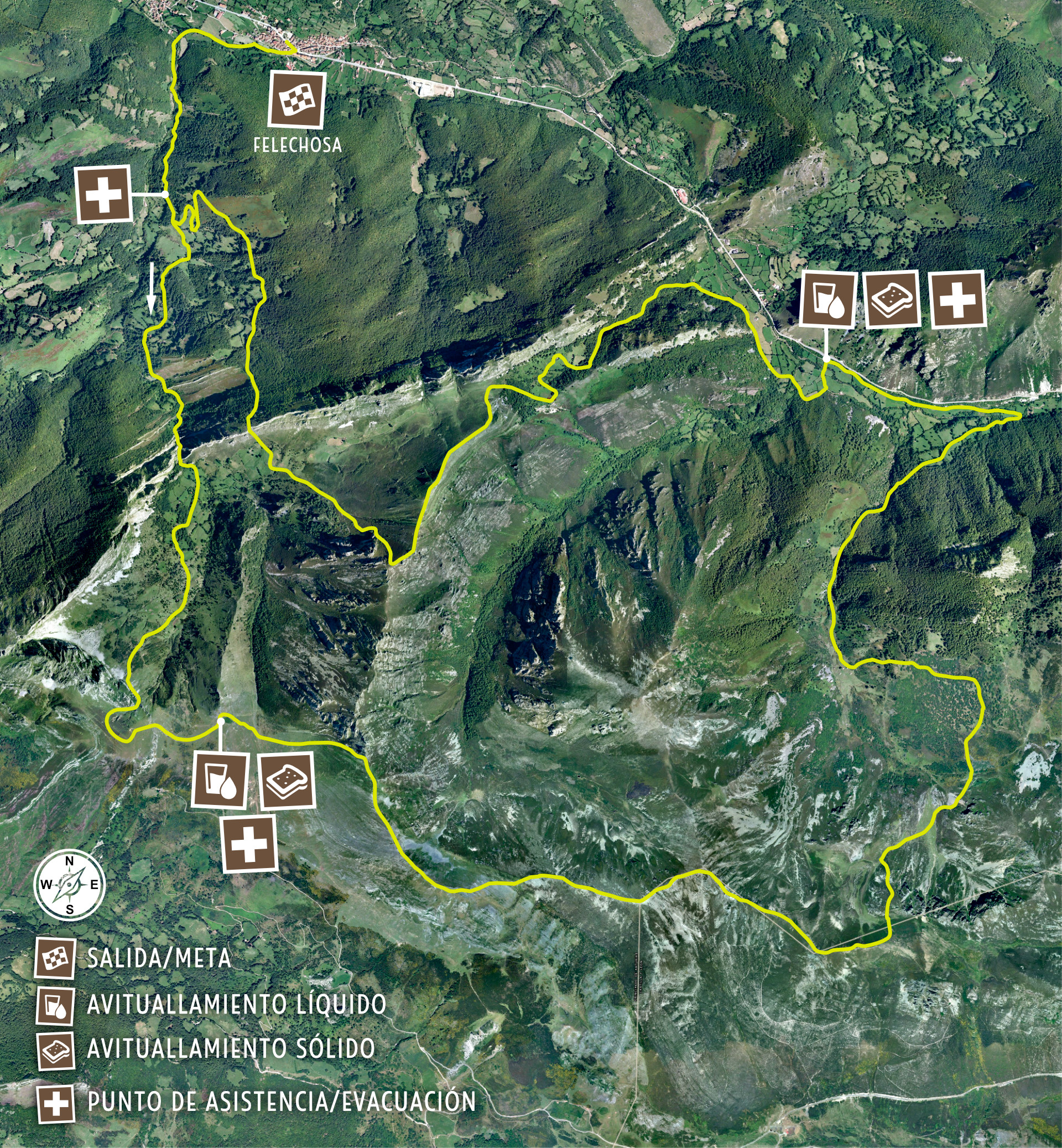 K33 Mapa de Carrera