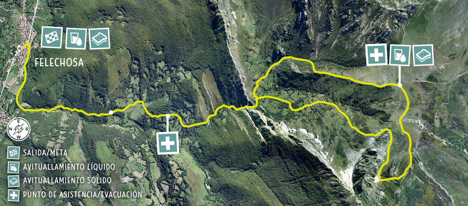 K15 Mapa de Carrera