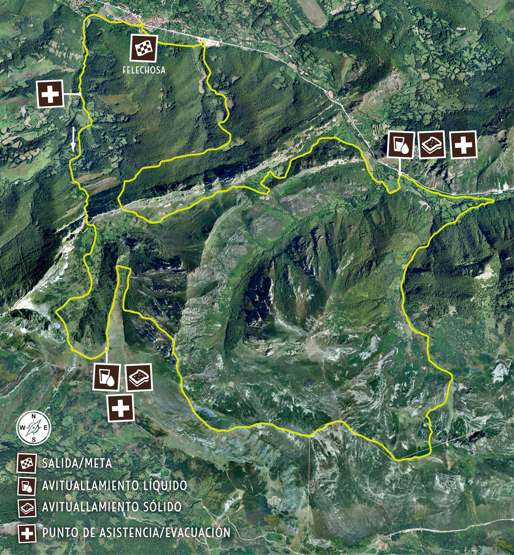 K34 Mapa de Carrera